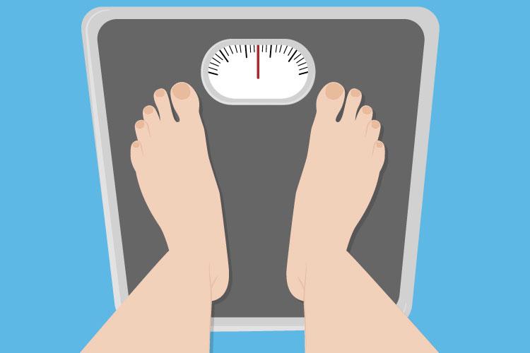 ده قدم کوچک برای جلوگیری از افزایش وزن