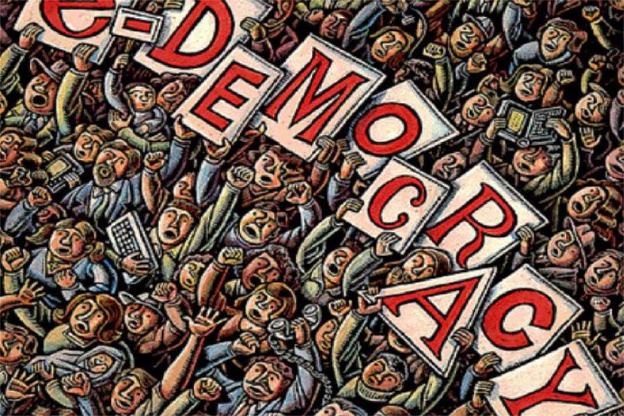 چکیدهای درباره نظام دموکراسی