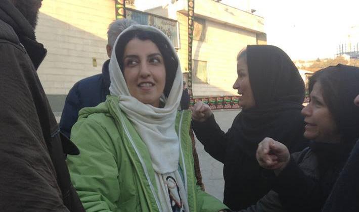 نامه نرگس محمدی از زندان اوین: در مقابل کشتار مردم توسط حکومت بایستیم