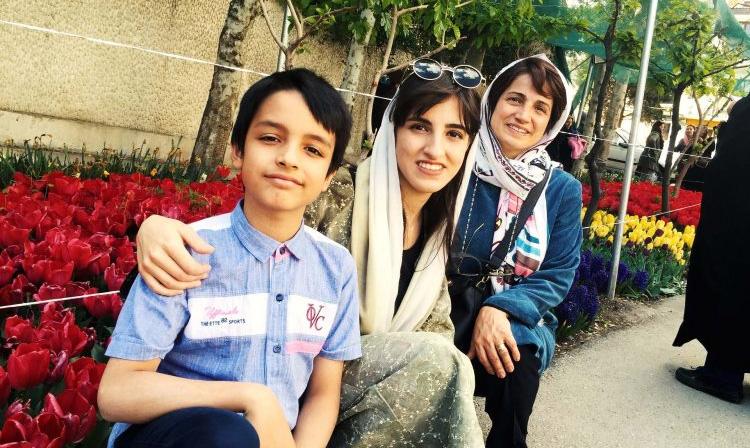 نامه نسرین ستوده از زندان اوین به پسرش به نیما